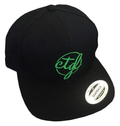 CTGL CAP - BLACK/GREEN