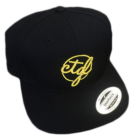 CTGL CAP - BLACK/RED