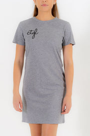 WOMEN'S CTGL DRESS - GREY