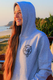 FOLLOW DREAMS HOODIE - GREY UNISEX