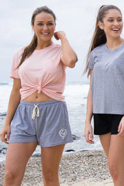 WOMEN'S SHORTS - GREY