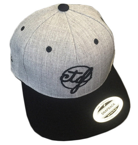 CTGL CAP - 2 TONE GREY/BLACK