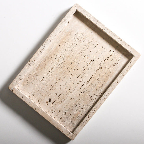 Lyssa Travertine Tray