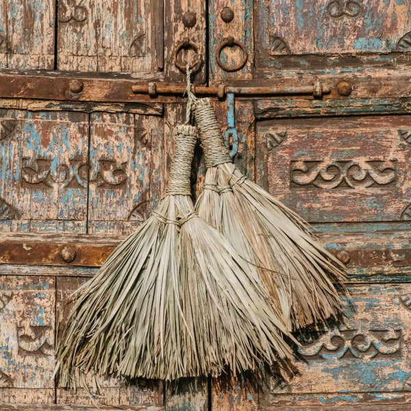 CHABI CHIC - Beldi Palm Leaf Broom (Assorted)