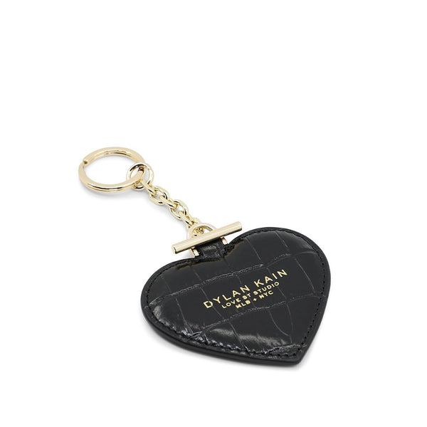 Heart Keychain Light Gold