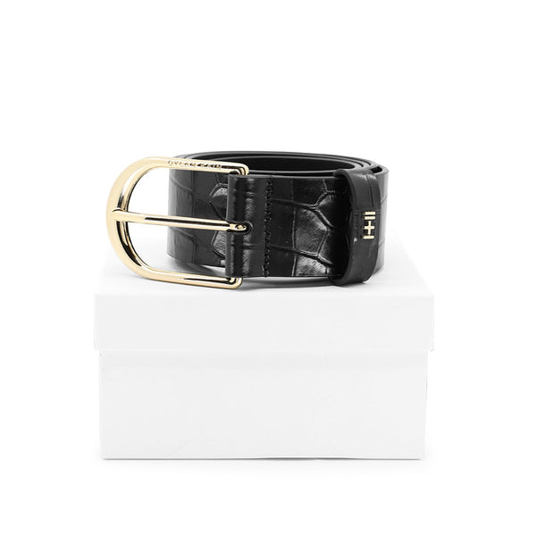 The Nika Belt Light Gold