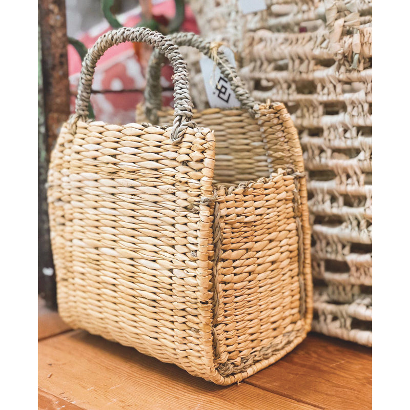 Square Straw Basket