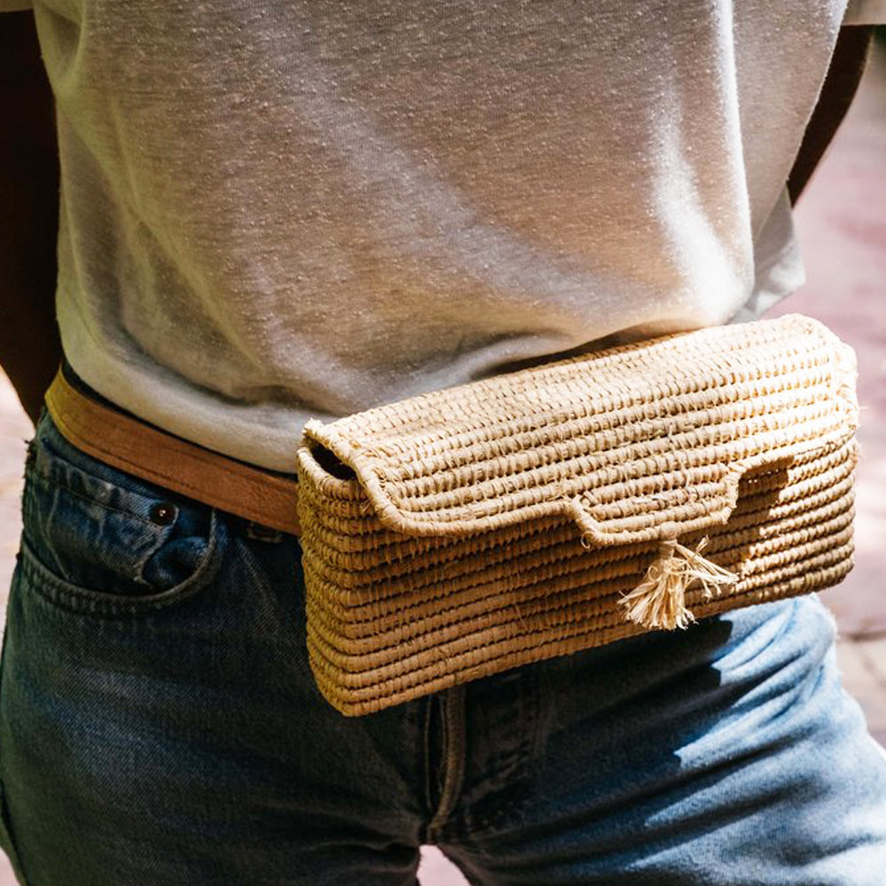CHABI CHIC - Raffia Hip Pack