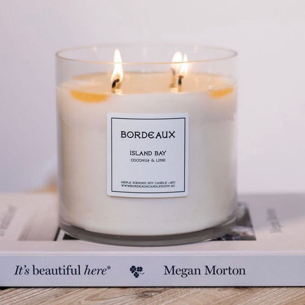 Bordeaux Soy Wax Candle 2.8kg