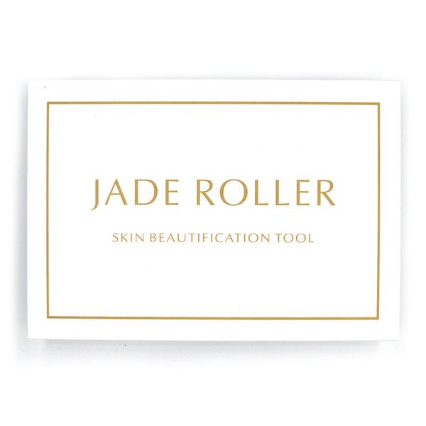 Limited Edition Dark Jade Roller + Gua Sha Box Set
