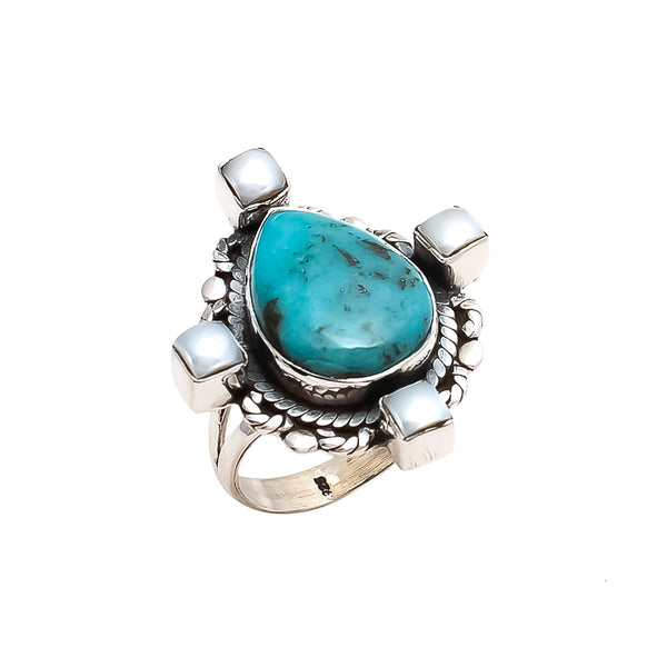 THE BEDOUIN COLLECTIVE - Planets Align Ring - Turquoise