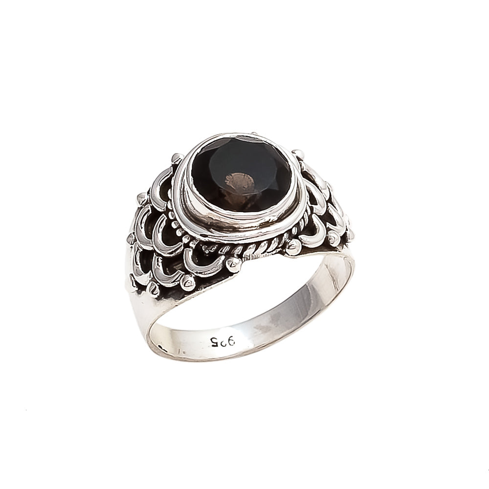 THE BEDOUIN COLLECTIVE - Stilla Ring - Smokey Quartz