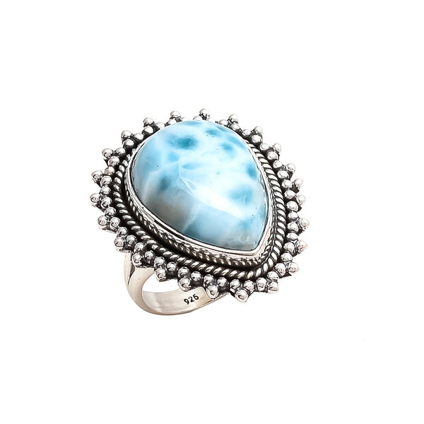 THE BEDOUIN COLLECTIVE - Pandora Ring - Larimar