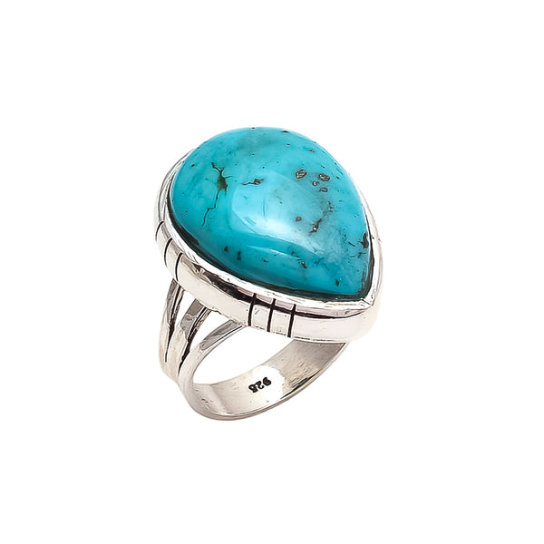 THE BEDOUIN COLLECTIVE - Venus Rising Ring - Turquoise