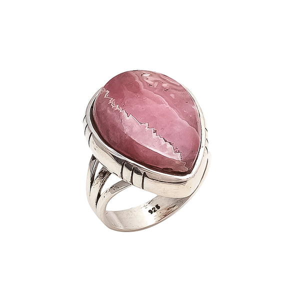 THE BEDOUIN COLLECTIVE - Venus Rising Ring - Rhodochrosite