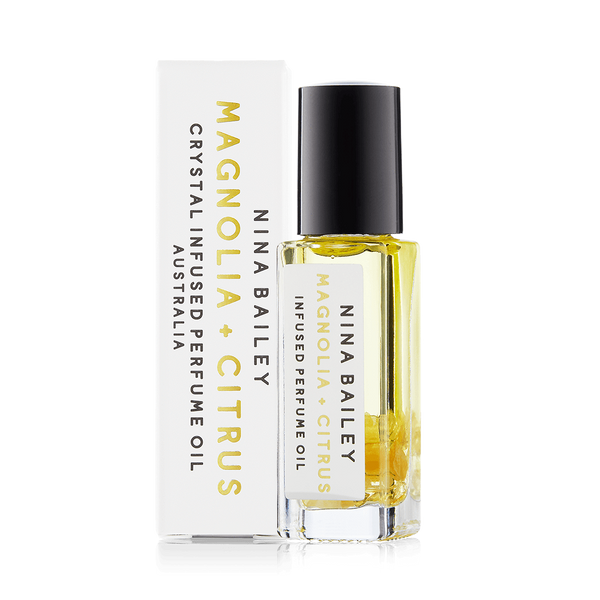 Citrus & Magnolia Crystal Infused Perfume Oil