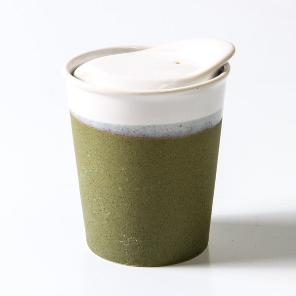 A Keeper Reusable Ceramic Cup Mini - Sprout Green