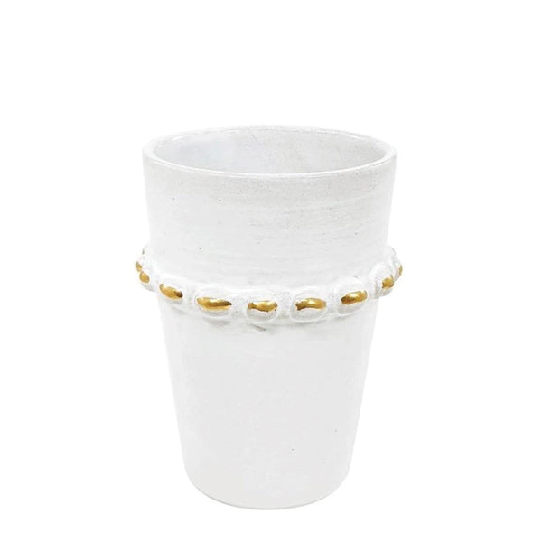 Tazza Beldi Cup - White + Gold