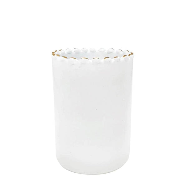 Tazza Tall Cup - White + Gold