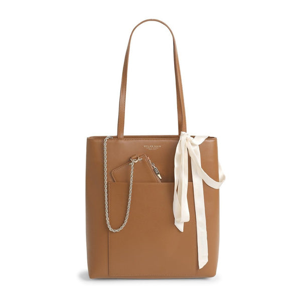 The Madeline Tote Tan Light Gold