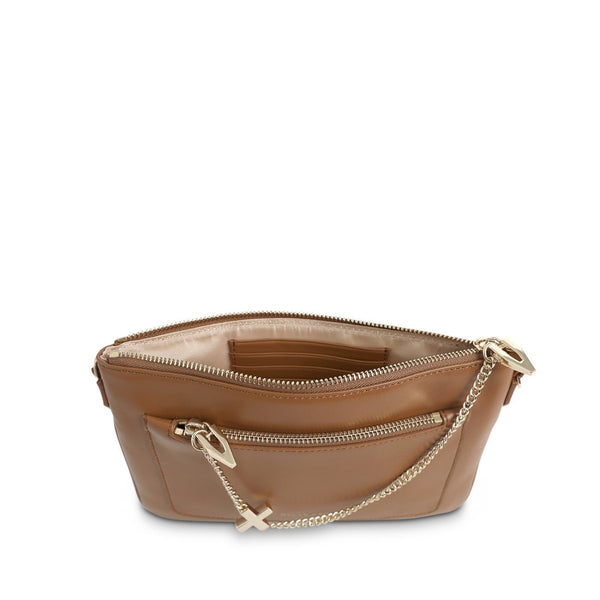 The Margot Bag Tan Light Gold