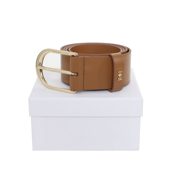 The Nicka Belt Tan Light Gold