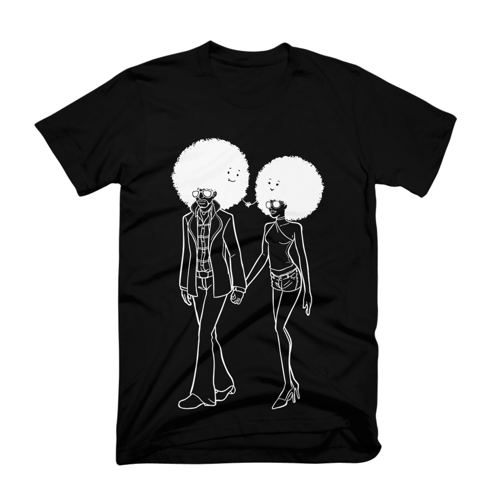 Afro Couple - Tees