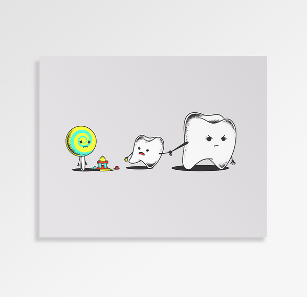 Bad Friend - Art Print