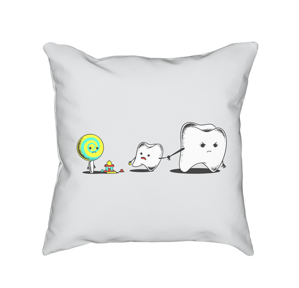 Bad Friend - Throw Pillow