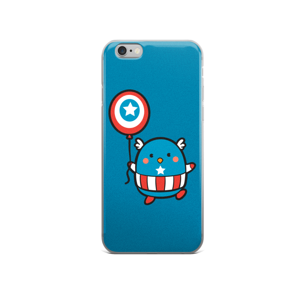 Captain Mascot - Phone Cases
