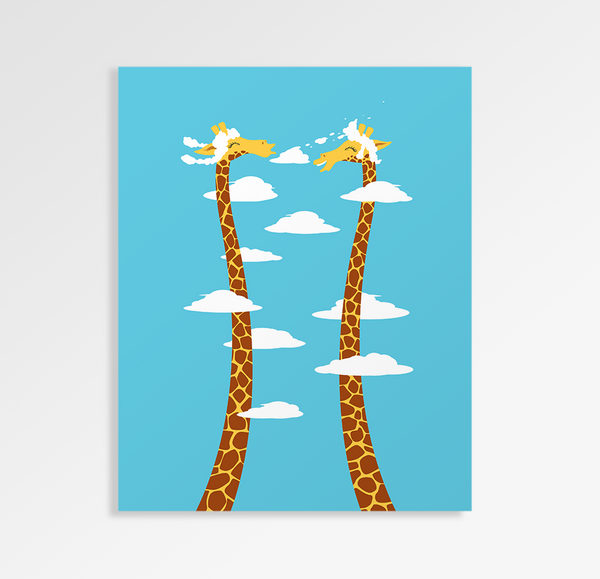 Cloudy Day - Art Print