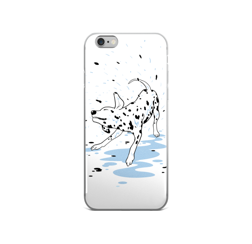 Dalmatians Shower Day - Phone Cases