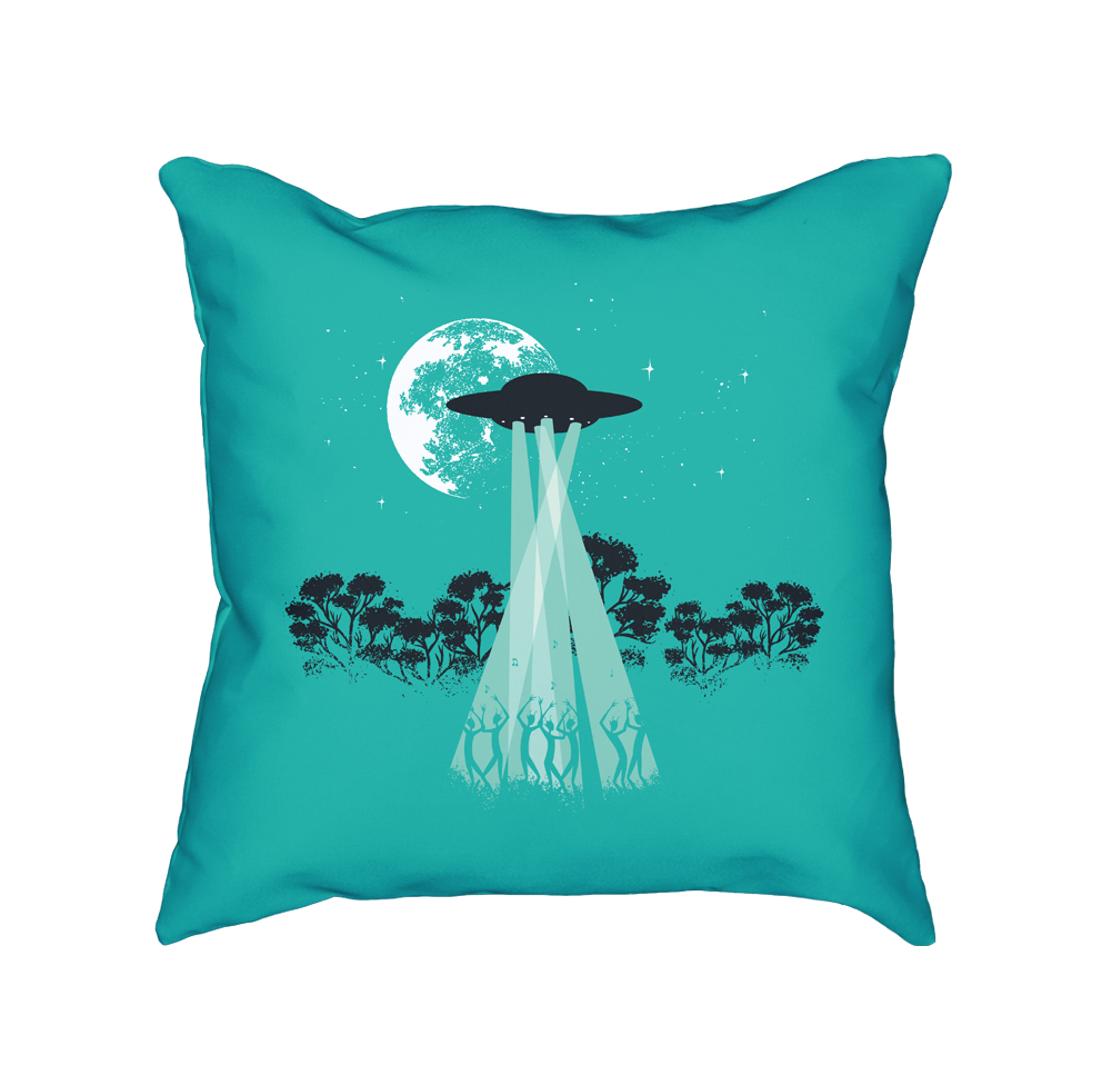 Disco Time - Throw Pillow