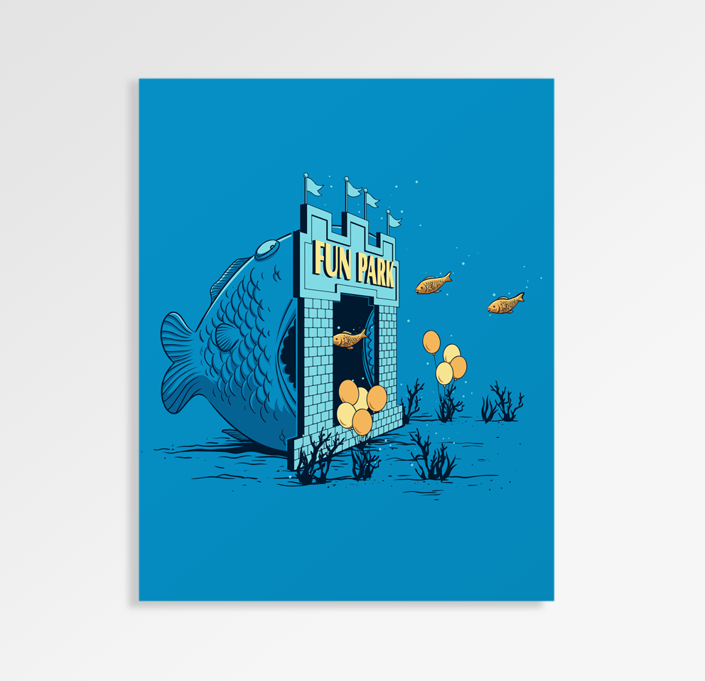 Fun Trap - Art Print