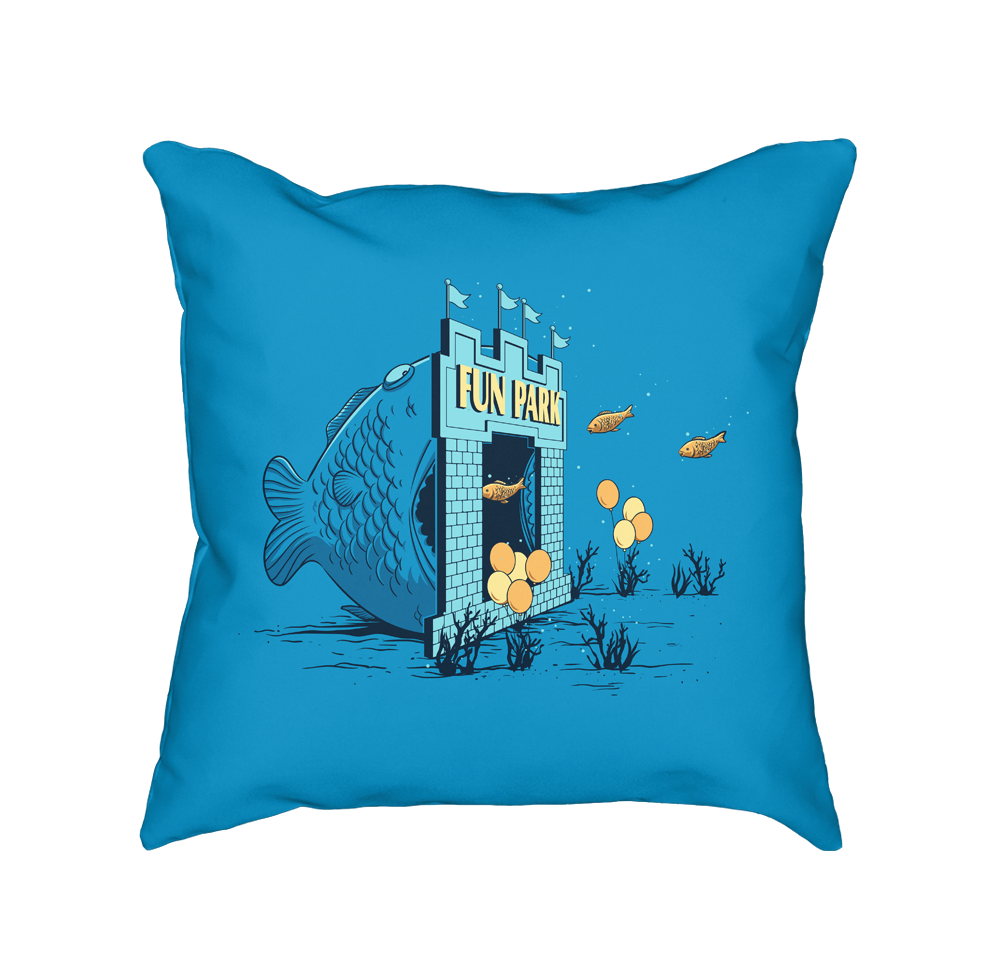 Fun Trap - Throw Pillow