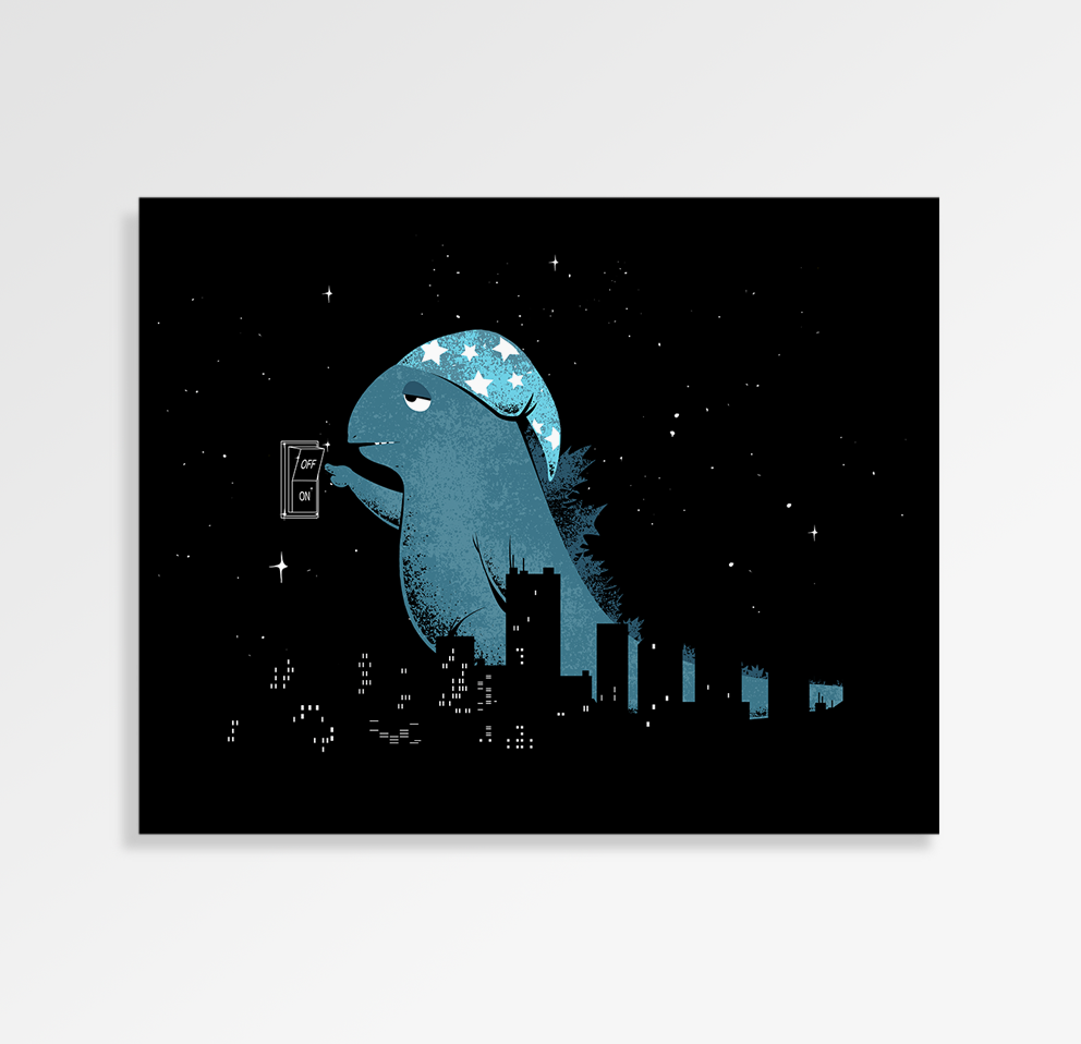 Good Night City - Art Print