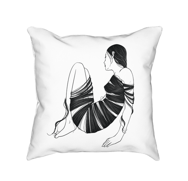 HAIR - Throw Pillow