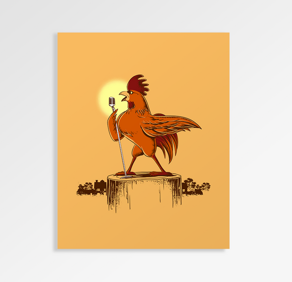 Morning Concert - Art Print