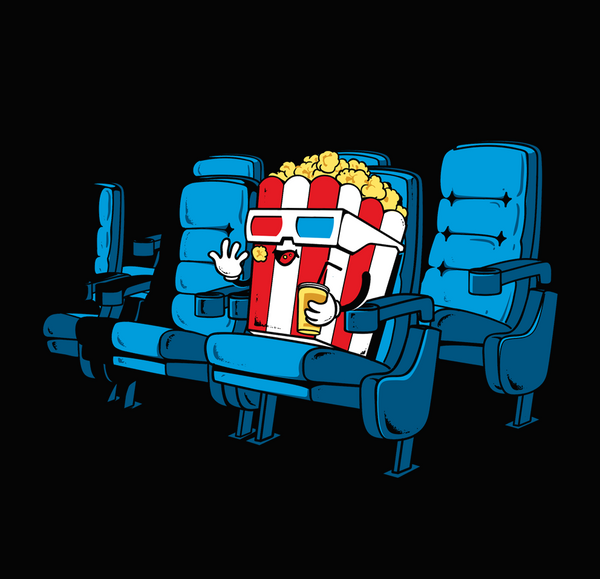 Movie Time - Tees