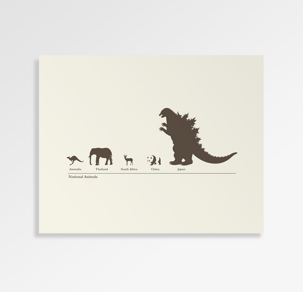 National Animals - Art Print