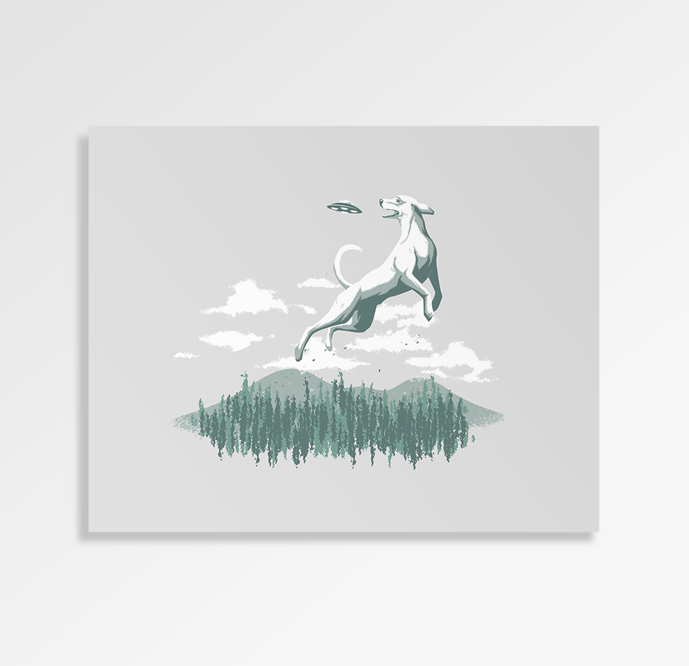 Nice Catch - Art Print