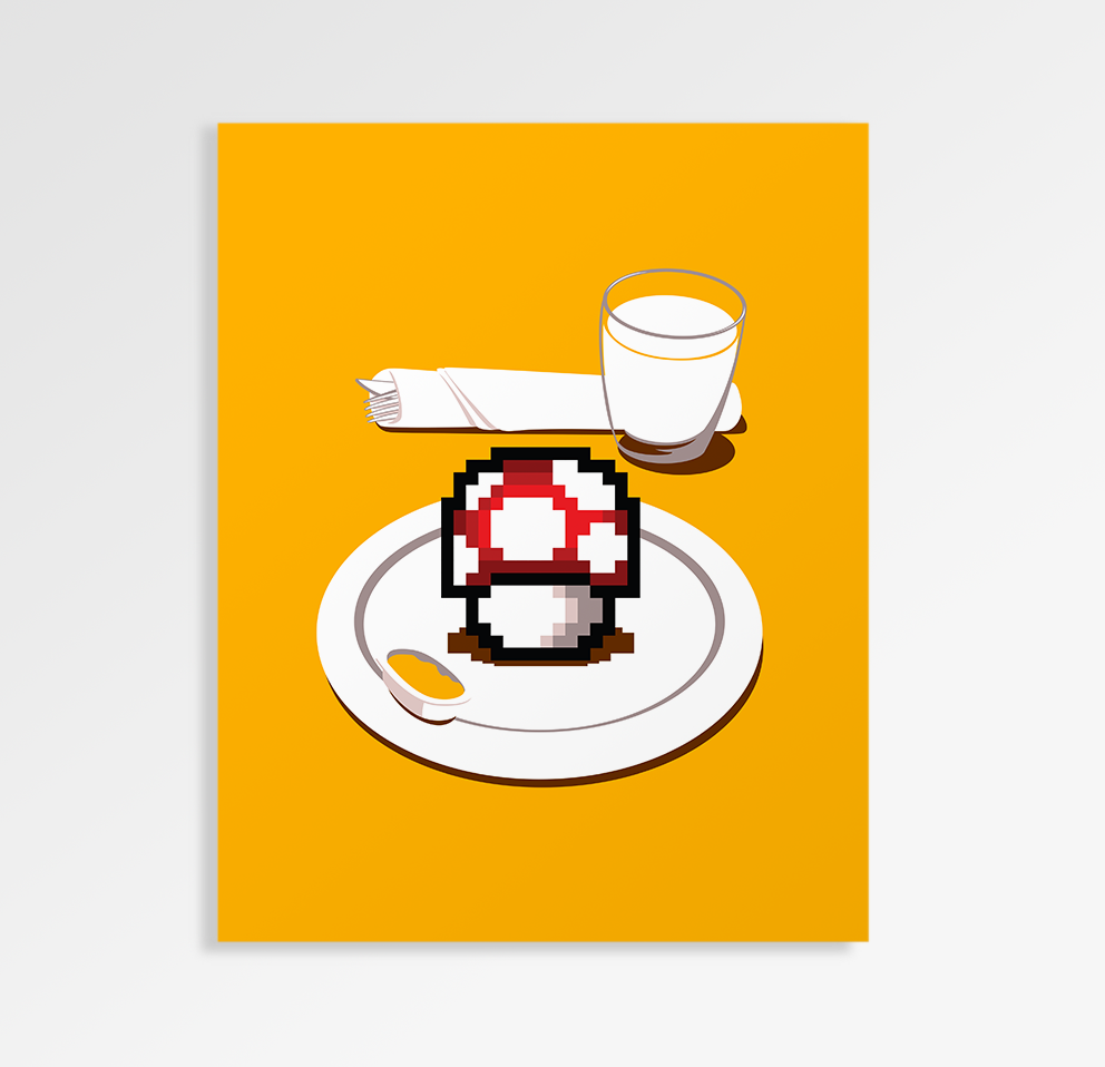 Nutritious Breakfast - Art Print