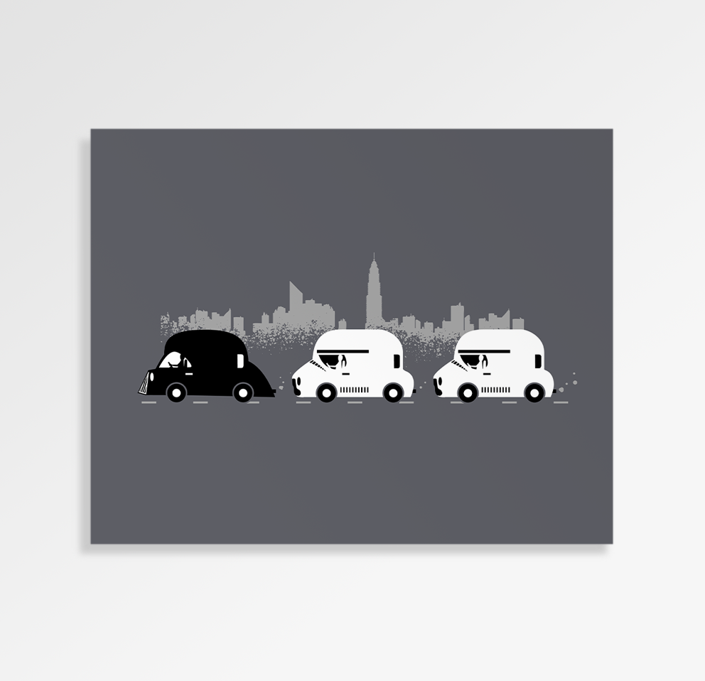 On The Road - Art Print