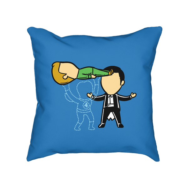 Part Time Job Magic Show - Throw Pillow