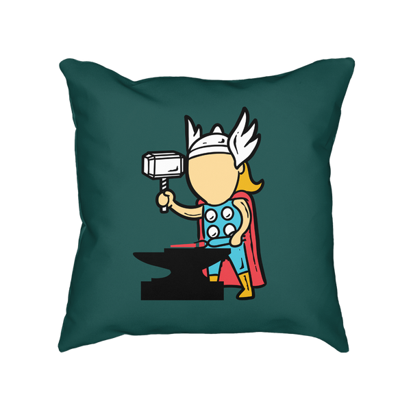 Part Time Job Metal Factory - Throw Pillow