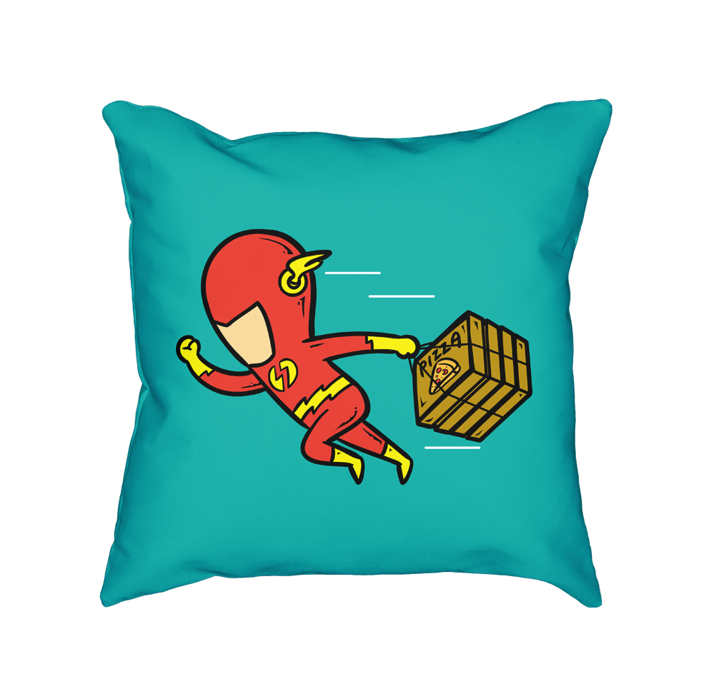 Part Time Job Pizza House - Throw Pillow