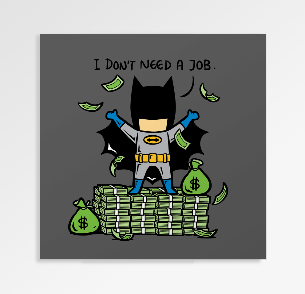 Part Time Job No Job - Art Print