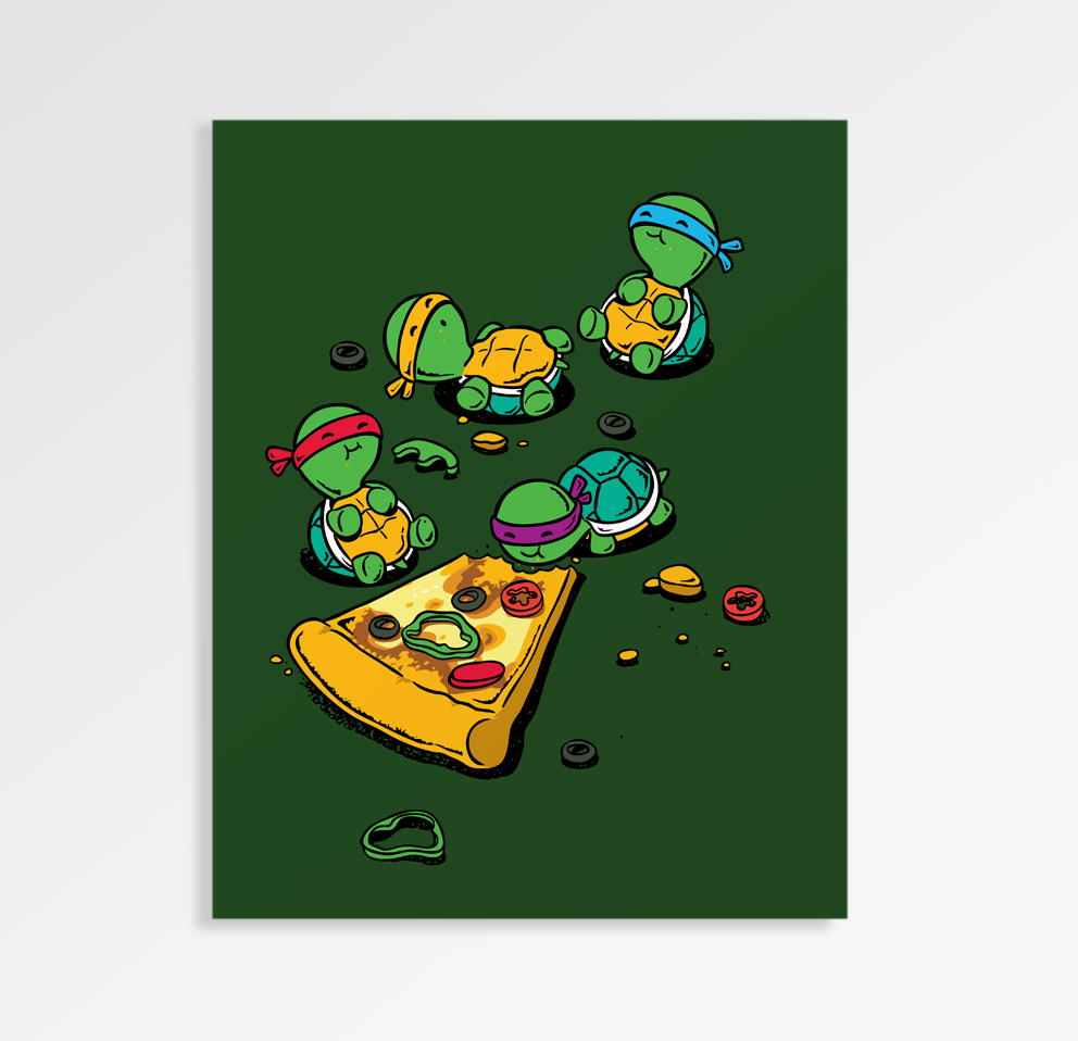 Pizza Lover - Art Print