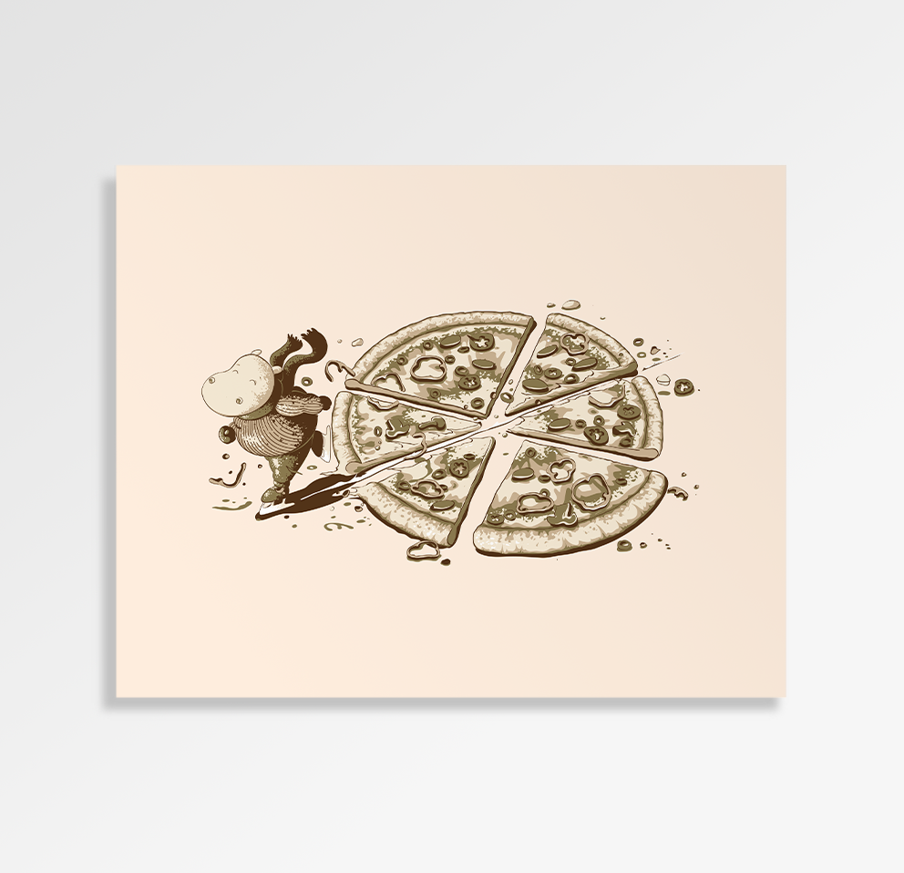Pizza Time - Art Print