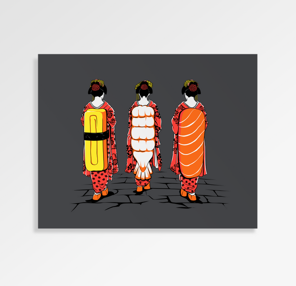 Sushi Ladies - Art Print